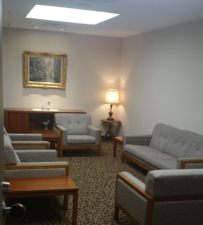 事務所応接室