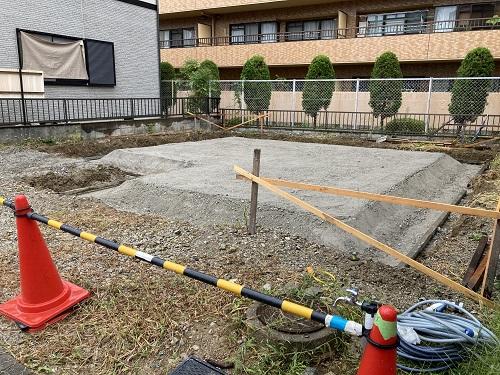 ★川西A-1号地 建売分譲新築住宅 基礎着工★